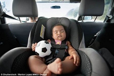 Researchers found rear-facing car seats are effective at protecting children during rear-impact crashes