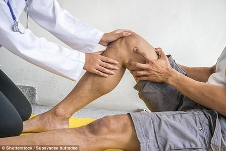 Almost 100,000 knee replacements are carried out each year in the UK, excluding Scotland