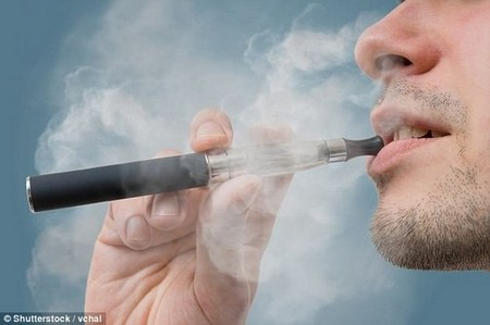 Scientists also uncovered that e-cigarette users have similar microbiomes to those without the notoriously bad habit
