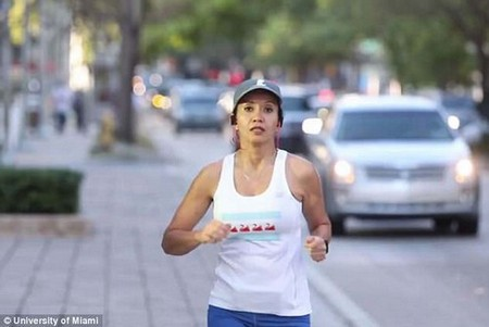 Less than three years after a spinal cord tumor nearly cost Carolina Ortega her ability to walk, she is running the Boston Marathon