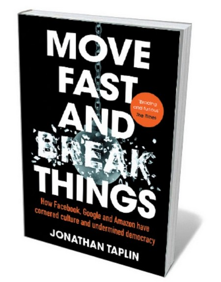 Book jacket 'Move Fast and Break Things'