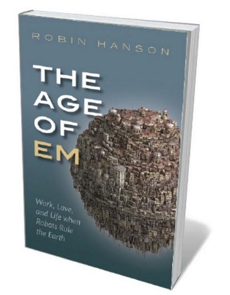 Book jacket 'Age of Em'