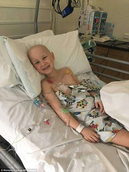 After Amelia's surgery, one of the nurses overheard her say to another child: 'there's nothing wrong with being different!'