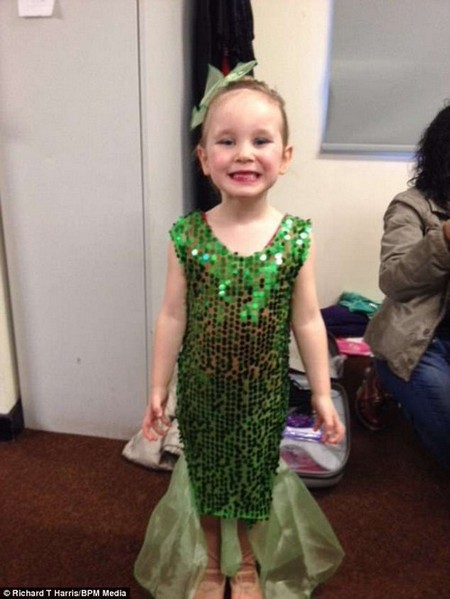 Amelia has vowed that one day she will dance on stage again