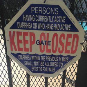 Warning: Diarrhea? Keep the Gate Closed