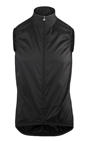 When you're just looking for something to help beat the windchill or something you can cram in your backpocket in case of an emergency, look no further than Assos's Blitz Vest Mille GT