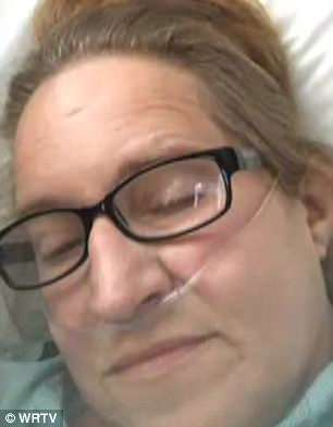 Agonizing battle: Carol was finally hospitalized, but two surgeries couldn't save her