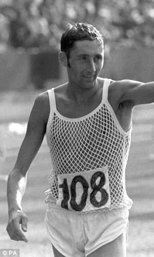 Runner Ron Hill in 1970