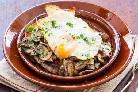 Mushrooms on toast recipe