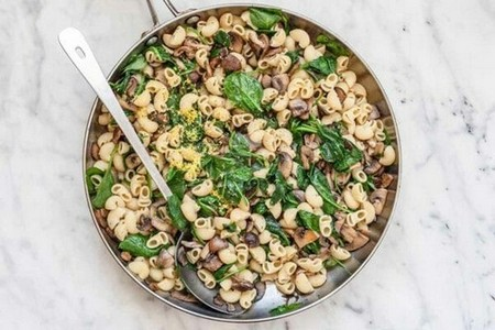 Spinach Pasta with Brown Butter Finish the Pasta