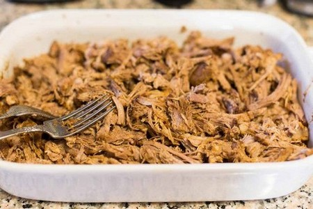 Pressure Cooker Mexican Pulled Pork
