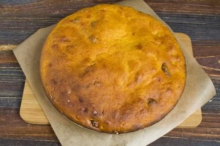 Готовим тыквенный пирог на кефире в духовке 40 минут при 175 градусах