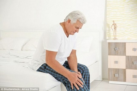 Scientists have ranked the most effective treatments for knee osteoarthritis (stock)
