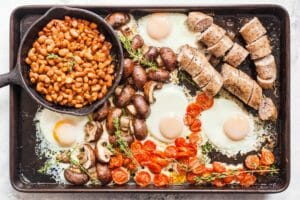 Sheet Pan English Breakfast