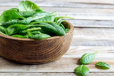 Spinach is high in folate, a B vitamin that has been shown to increase the rate and reliability of ovulation
