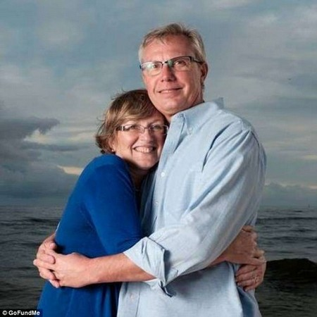 Love: Phyllis does not always remember Stan's name but it is clear she loves him