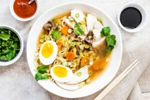 Weeknight Chicken Ramen