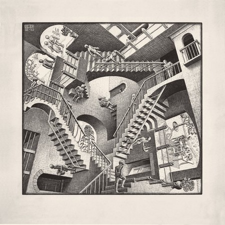 Inside M.C. Escher's Mind-Bending, Complicated Relationship with Architecture