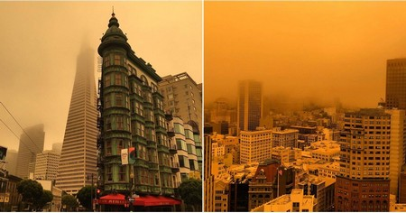 30 Surreal Pictures of the San Francisco Sky After the Northern California Wildfires