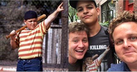 Hah! This Guy Wearing a Sandlot Shirt Had NO CLUE He Was Talking to Sandlot Stars