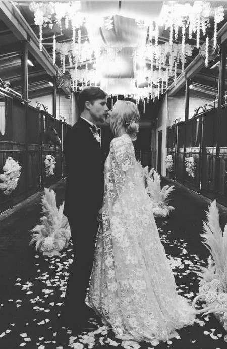 Kaley Cuoco Just Got Married In Two Gorgeous Looks