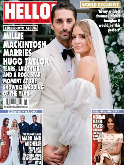 We've been given a sneak peek inside Millie Mackintosh and Hugo Taylor's VERY lavish wedding