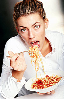 Prolonged diets and dissatisfaction with your body can lead to bulimia