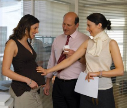 How to save money and work for a pregnant woman