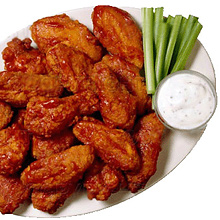 To prepare chicken wings Buffalo will need a sharp knife and a little imagination