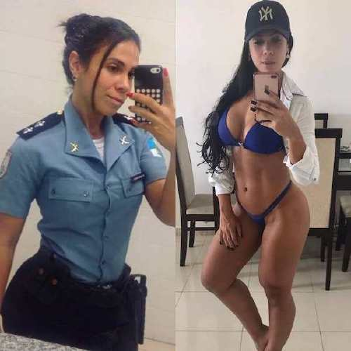 Beautiful badasses in (and out of) uniform