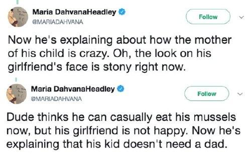 Douche of a boyfriend failed to inform his S.O. he had a child, Photos