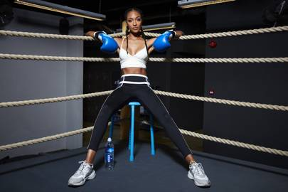 Jourdan Dunn reveals the boxing workout that keeps her in shape and the £10 highlighter she can't live without