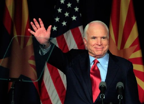 Longtime Senator and war hero John McCain dies at age 81