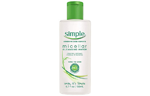 4. Simple Micellar Cleansing Water