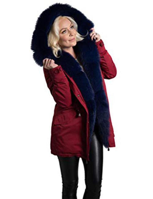 10. Kate's Fur Collection Women's Parka