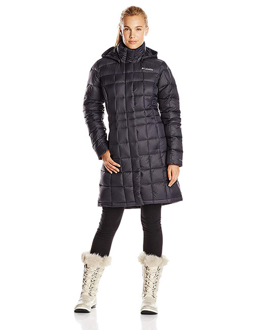 1. Columbia Sportswear Long Down Winter Jacket