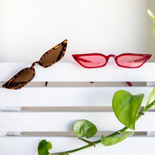 '90s Skinny Sunglasses, $1
