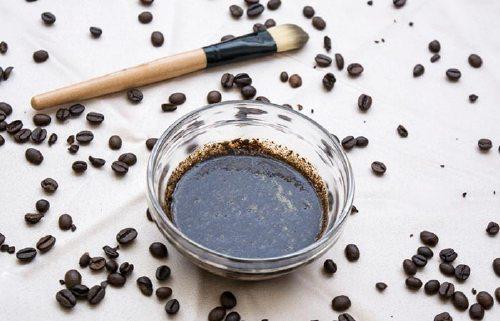 10. Coffee And Rose Water Scrub