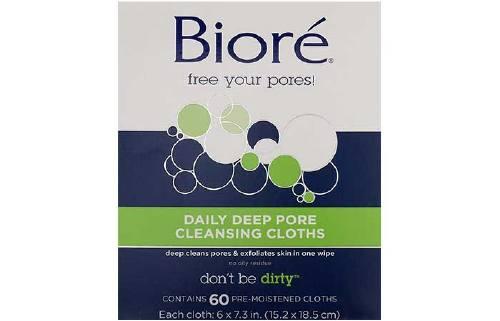 Biore Daily Deep Pore Cleansing Cloths