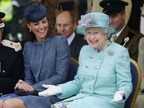 How Well Do the Queen and Kate Middleton Really Get Along?