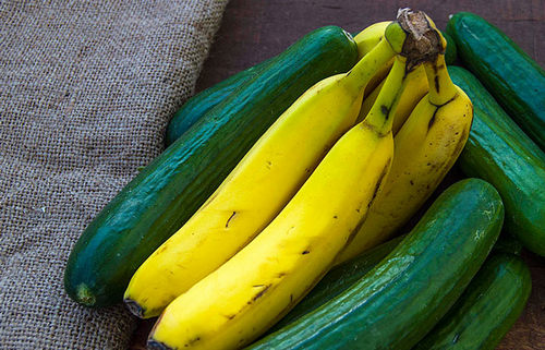 5. Banana And Cucumber Pack