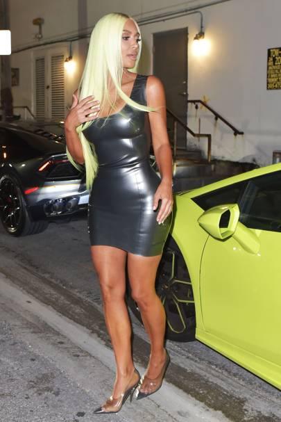Kim Kardashian is living her best Barbie life... proving life in plastic, is fantastic