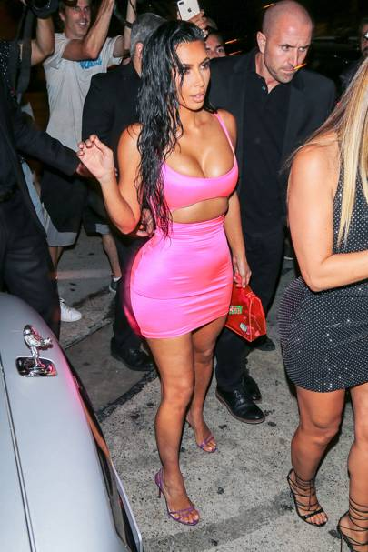 Kim Kardashian is living her best Barbie life... proving life in plastic, is fantastic