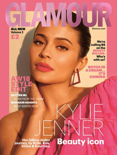 Kylie Jenner is GLAMOUR's incredible AW18 cover star!