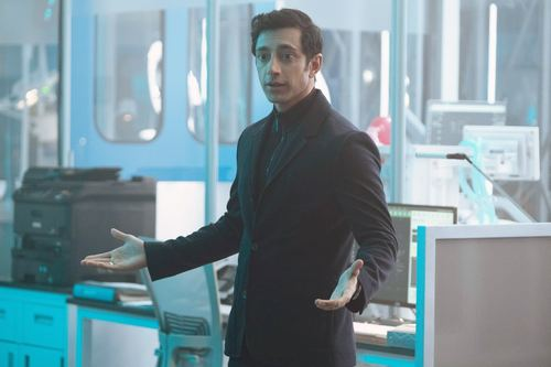 VENOM, Riz Ahmed, 2018. ph: Frank Masi/ Columbia Pictures/courtesy Everett Collection