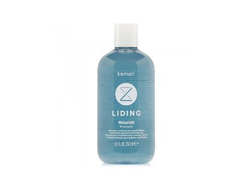 Питательный шампунь для ослабленных волос Liding Nourish, Kemon
