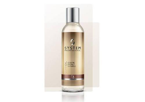 Шампунь LuxeOil Keratin Protect Shampoo, System Professional