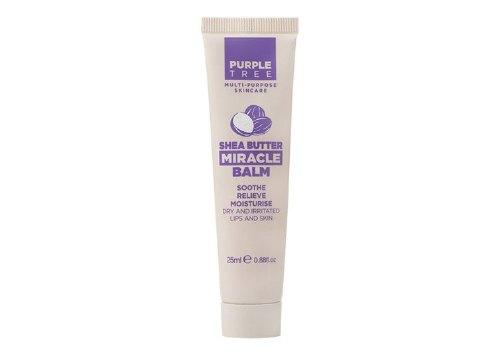 Бальзам для губ Shea Butter Miracle Balm, Purple Tree
