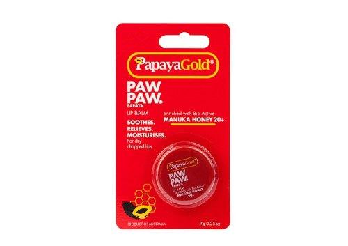 Бальзам для губ с медом манука Paw Paw Papaya Lip Balm, Papaya Gold