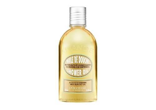 Гель для душа «Миндаль» Almond Cleansing And Soothing Shower Oil,L'Occitane